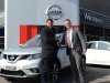 Cardiff Blues CEO picks up his new 15 plate Nissan X-Trail